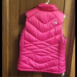 The north face xl hot pink vest
